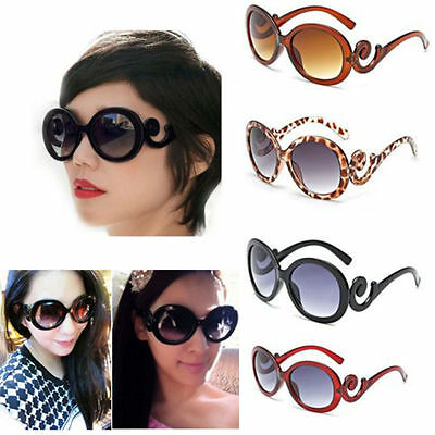 Women Retro Vintage Shades Fashion Oversized Designer Sunglasses Accessories New