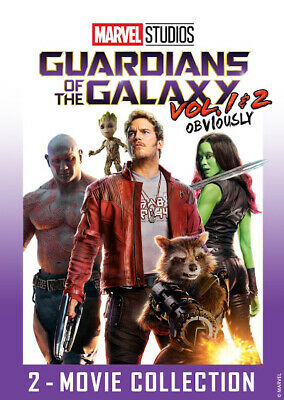 Guardians of the Galaxy Vol. 1 & 2 DVD 2 Movies New Collection