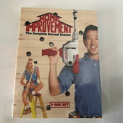 Home Improvement - The Complete Second Season (DVD, 2005, 3-Disc Set) New Sealed
