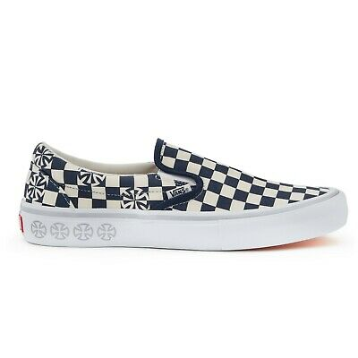 VANS X INDEPENDENT Checker Slip On Pro Skate Sneakers VN0A347VS5L Size US 4 13