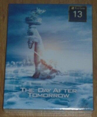 The Day After Tomorrow (blu-ray) Steelbook - Filmarena (Full slip) NEW & SEALED