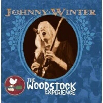 """Johnny Winter """"The Woodstock Experience"""" 2 Cd New"""