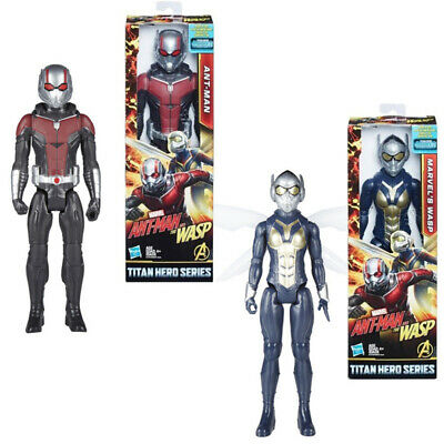 "Marvel Titan Hero Series Ant-Man & the Wasp 12"" Action Figure with Power FX Port"