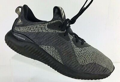 2fab5788ba7dd Mens Adidas Alphabounce HPC AMS M DA9561 Black Grey Size US 8 Athletic Shoes
