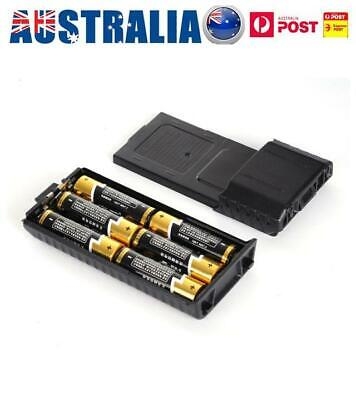 5AA Battery Extended Box Case For Baofeng F8 F9 UV5R Two-Way Radio Walkie Talkie