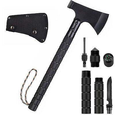 Camping Tactical Axes & Hatchet Multi-Tool Survival Tomahawk Folding Hammer hunt