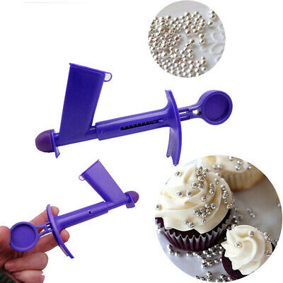 Plastic Pearl Ball Applicator Fondant Cake Decor Baking Sugarcraft Tool Wide
