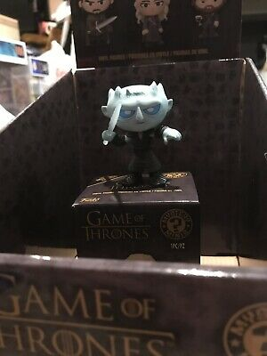 Funko Mystery Minis Game Of Thrones 4 Night King w/ Spear Hot Topic Glow In Dark