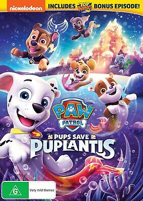 Paw Patrol Pups Save Puplantis DVD Region 4 NEW // PRE-ORDER for 03/04/2019