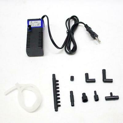 Aquarium Fish Tank Filtration Internal Filter Submersible Pump Spray 400L/H ZH