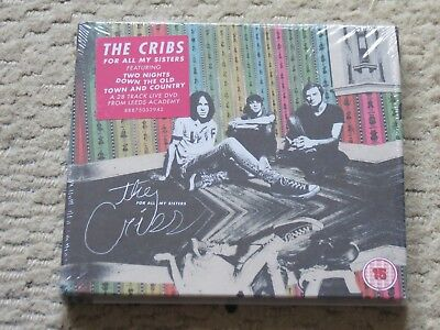 NEW/SEALED CD & DVD The Cribs: For all my Sisters (deluxe edition) live in Leeds