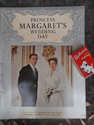 Princess Margaret Wedding booklet