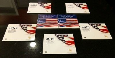 2007 2008 2012 2013 2014 2015 2016 Annual Uncirculated Dollar Sets   Last One !!