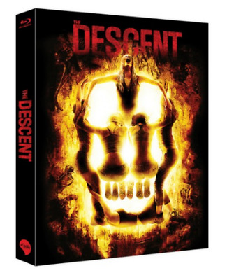 """""""  THE DESCENT  """"  Blu-ray   LENTICULAR FULL SLIP  (500 NUMBERED)"""