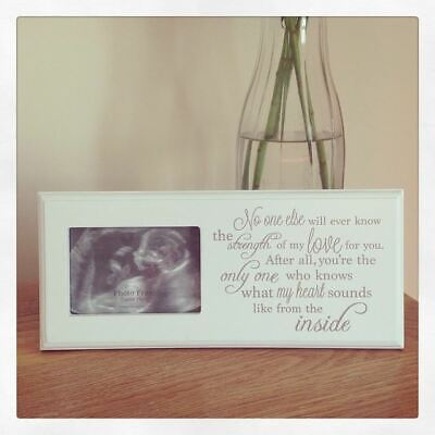 Wooden Plaque Sign for Babies First Photo Ultrasound Scan