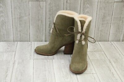 3cfe8082911 UGG JERENE LACE Up Boots - Women's Size 6.5 - Sage