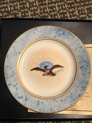 White House Dessert Collection Plate ~ Andrew Jackson NIB Woodmere China