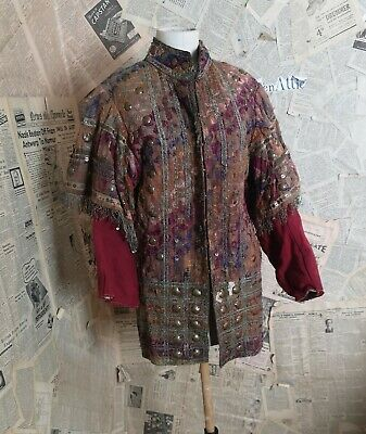 19th Century Turkish Ottoman jacket, mens antique jacket