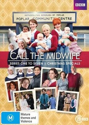 Call The Midwife : Series 1 - 7 | Box Set (DVD, 2018, 20-Disc, R4) BBC BRAND NEW