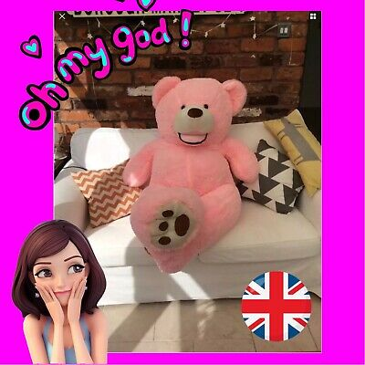 Easter Gift Pink Extra Large Teddy Bear 160 cm XXL Huge Giant Big XL Soft Toy