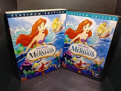 The Little Mermaid (DVD, 2006, 2-Disc Set, Platinum Edition) Disney B266