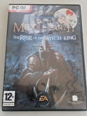 PC Game LOTR Rise of the Witch King - ***Genuine BOX & COVER ONLY***