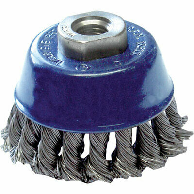 Toolpak Steel Twist Knot Cup Wire Brushes (65mm Or 75mm)