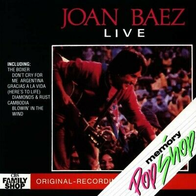 "Joan Baez ""live"" Cd New"