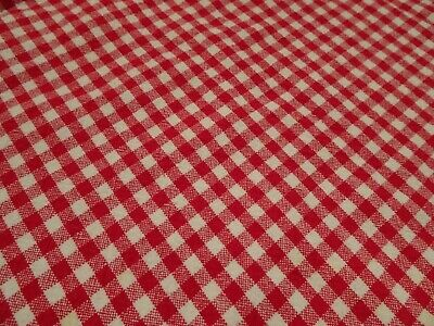 Red White Checkered Tablecloth 60 Round 1100 Picclick