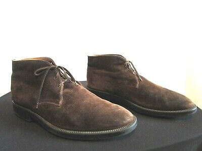 04ac905a1 TOMMY HILFIGER MEN S Gervis Chukka Boot Brown Suede Size 12 Shoes ...