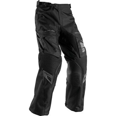 Thor NEW Terrain Blackout Over The Boot Motorbike Offroad Adventure Pants