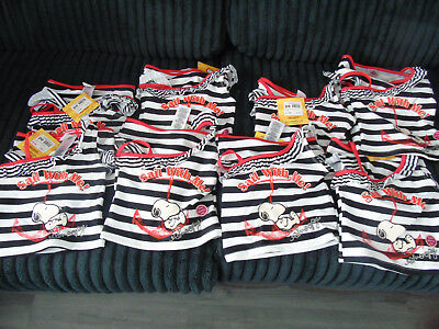 Job Lot Girls Peanuts Snoopy Swimsuits Tankini x8 NEW RRP £13.99 ideal resale