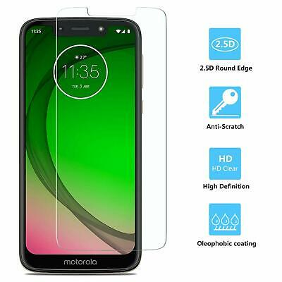 For Motorola Moto G7 PLAY Tempered Glass Screen Protector Guard Transparent 9H