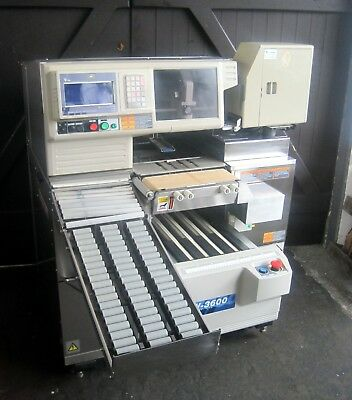 Fully Automatic Stretch Film Packaging Machine With Scale, Printer & Labeler