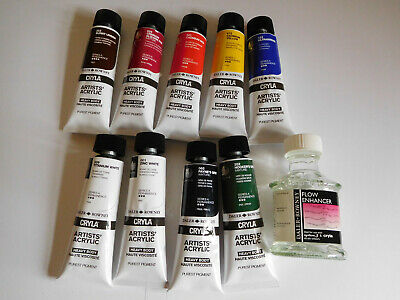 Daler Rowney Cryla Artists Heavy Body Purest Pigment Acrylic Colour Paint