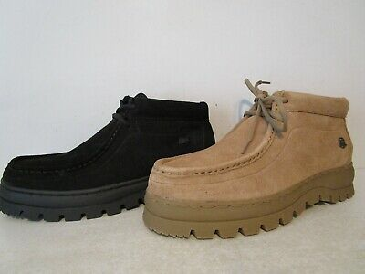8fc6762fbcf SAO STACY ADAMS Mens Dublin II Suede Casual Dress Ankle Boots Black 7.5  Sand 8