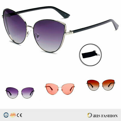 497a2b40e053 Women Sunglasses BARBIE Pink Princess Metal Cat Eye Oversized Mirror Lens  GAFAS
