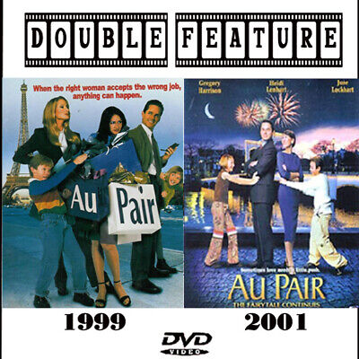 Au Pair 1 & 2 DVD Gregory Harrison 1999, 2001