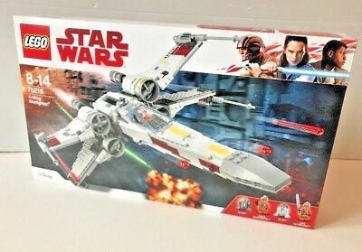 Neuf N° X Lego Scellé Stellaire Starfighter Wars Wing Star 75218 Boite Chasseur roxBCed