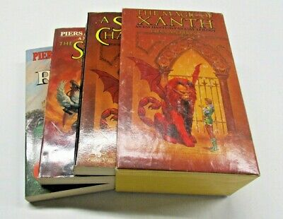 Anthony Piers The Magic Of Xanth 1977 Box Set  Del Rey Fantasy Trilogy
