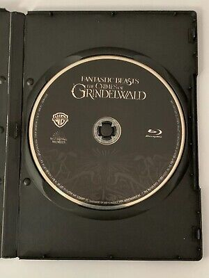 Fantastic Beasts: The Crimes of Grindelwald (Blu-ray Disc ONLY + Blank Case)