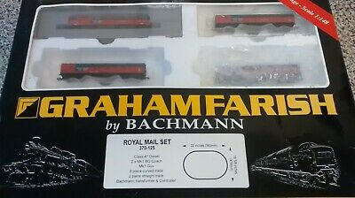 Graham Farish N Gauge Royal Mail Train Set.