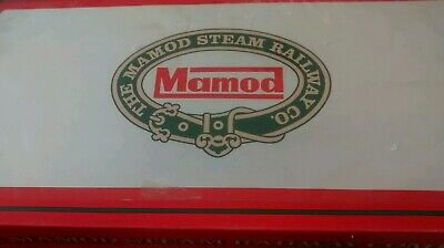 Vintage Mamod Railway Train Set Unfired.