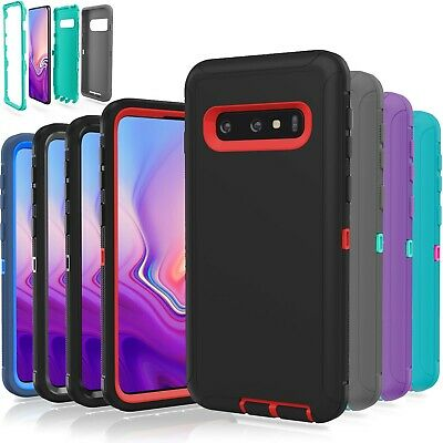 Samsung Galaxy S10 / S10 Plus / S10E Case Cover Shockproof Hybrid Rugged Rubber