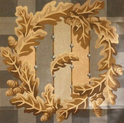 EHRMAN Susan Skeen 1990 OAK GARLAND tapestry NEEDLEPOINT KIT RETIRED RARE