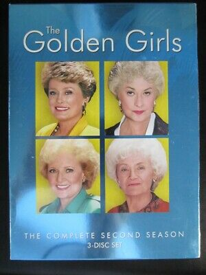 NEW The Golden Girls - The Complete Second Season (DVD, 2005, 3-Disc Set)