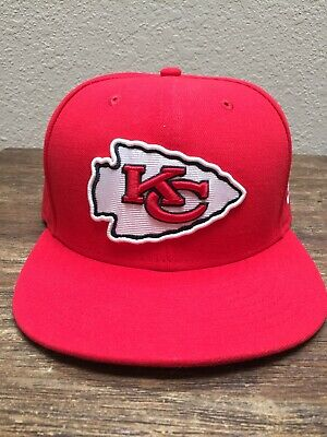 finest selection 4e946 e9a4c NWOT New Era KANSAS CITY CHIEFS NFL 59Fifty 5950 On Field Cap Fitted Hat 7 3