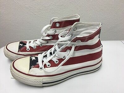 9bce66a08e7b Converse Chuck Taylor All Star New American Flag High Top Shoes M 4.5 W 6.5