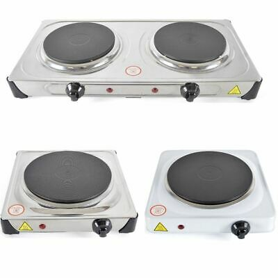 2000W / 1500W Portable Double And Single Electric Hot Plate Cooking Hob Cooker2