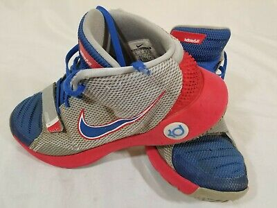 b5be58352c96 🔥NIKE KD TREY 5 III 3 Shoes Wolf Grey Game Royal Red Mens Sz 9 ...